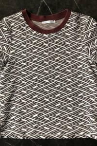ZARA dopasowany t shirt koszulka bluzka S 36 jak NOWY...