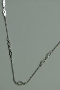 Stary naszyjnik łańcuszek srebro 925...