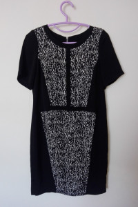 Mohito Czarna elegancka sukienka ołówkowa midi 34...