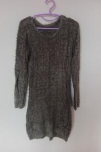 Sweterkowa milutka sukienka midi 36 38...