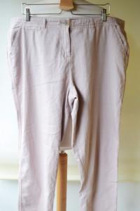 Spodnie 46 New Look Brudny Róż Rurki XXXL...