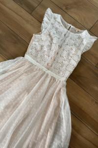 Sukienka midi z koronką...