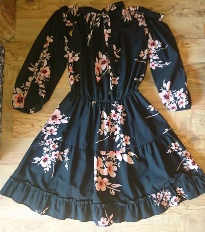 Suknie i sukienki Nowa hiszpanka kwiaty