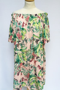Sukienka Kwiaty Hiszpanka H&M Odkryte Ramiona M 38...