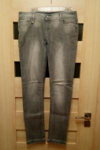 Spodnie damskie biodrówki szare Reserved W32 L34...