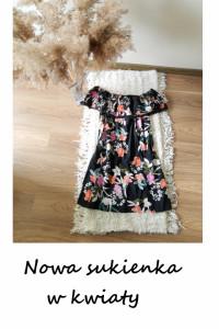 Nowa sukienka hiszpanka w kwiaty floral Primark...