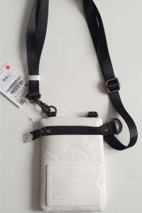 ZARA biała mini torebka listonoszka Dużo taniej niż w sklepie