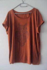 ruda bluzeczka z sowa...