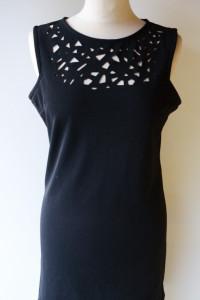 Sukienka Oneness Mała Czarna M 38 Elegancka Ażurowa...