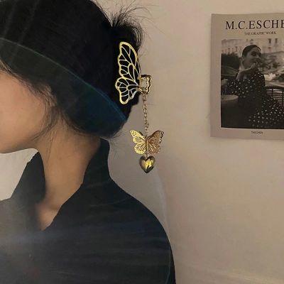 Ozdoby na włosy Motyl klamra do włosów