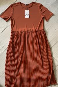 Zara piękna nowa sukienka M...