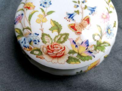 Pozostałe porcelanowe puzderko AYNSLEY Cottage Garden