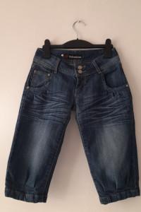Niebieskie jeansowe krótkie spodenki 34...