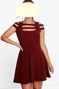 Boohoo efektowna sukienka roz 42...