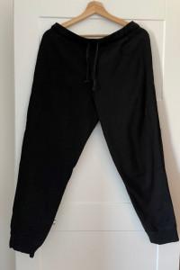 Spodnie dres lub piżama H&M HM czarne L