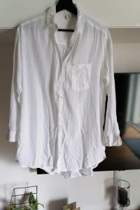 Koszula biała bawelniana...