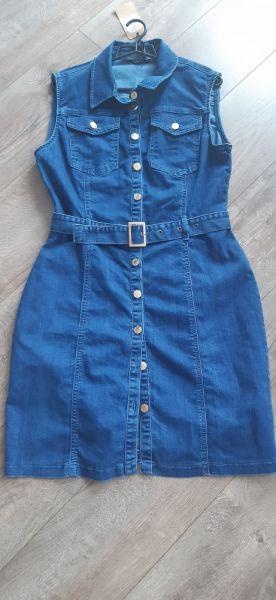 Suknie i sukienki Sukienka jeansowa