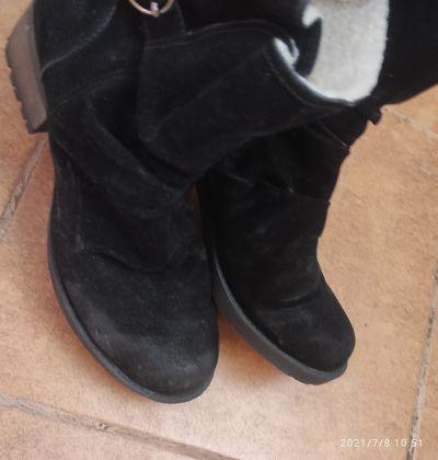 Botki Czarne używane botki