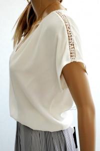 Cristina Effe nowa oryg bluzka z jedwabiem...