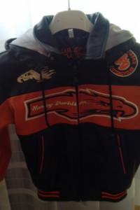 Skórzana kurtka chłopięc Harley Davidson