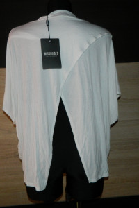 Missguided luźna asymetryczna bluzka roz 40
