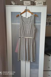 Sukienka H&M w paski rozmiar M