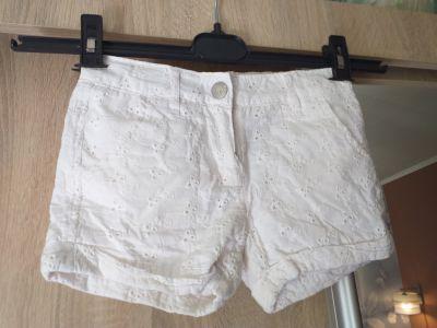 Spodnie i spodenki azurowe szorty