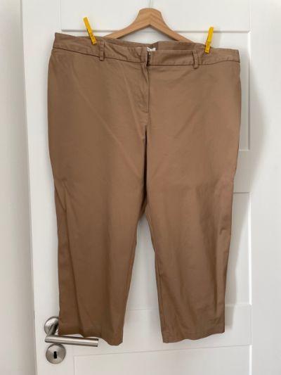 Spodenki Spodnie beżowe Marks Spencer rybaczki rozm 20 XXXL
