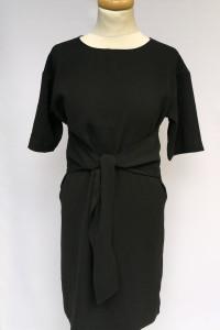 Sukienka H&M Czarna Elegancka S 36 Kokarda Wizytowa...