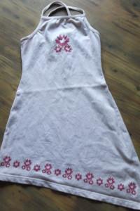 Asymetryczna sukienka rozmiar 116...