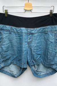 Spodenki Ciążowe Szorty Dzinsowe H&M Mama XL 42