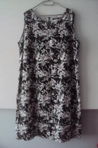 lniana sukienka...