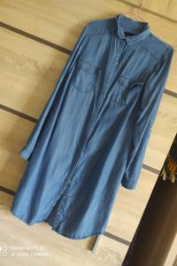 Długa bluzka z napisami