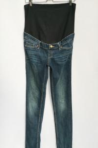 Spodnie Ciążowe Dzinsowe H&M Mama Rurki Skinny L 40...