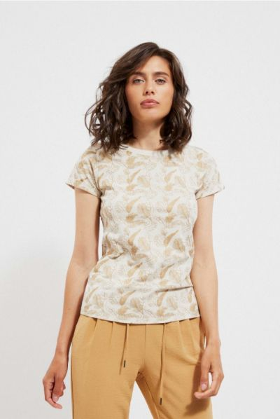 T-shirt Tshirt złote liście