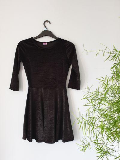 Suknie i sukienki Welurowa sukienka