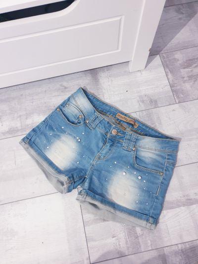 Spodenki Krótkie jeansowe spodenki