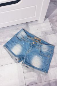 Krótkie jeansowe spodenki