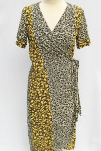 Sukienka Kwiaty S 36 Selected Femme Kopertowa Long...