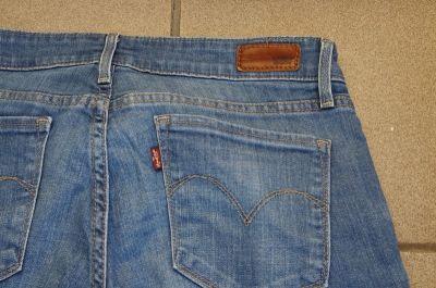 Spodnie jeansy Levis