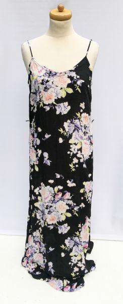 Suknie i sukienki Sukienka Kwiaty Long Maxi Gina Tricot S 36 Długa Kwiatki