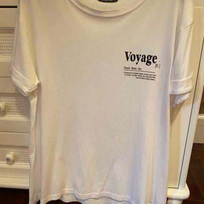 T-shirt Tshirt złamana biel