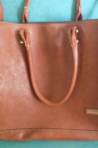 Brązowa duża torba