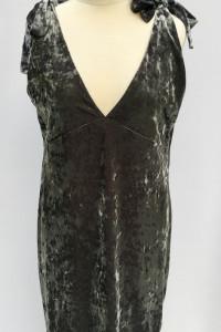 Sukienka Szara H&M Welurowa Aksamit 44 XXL Welur...