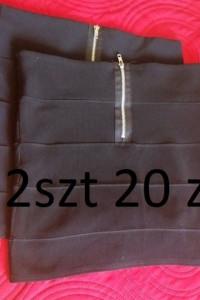 Spódnica Mini Czarna Elastyczna Rozciągliwa 42...