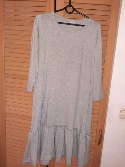 Suknie i sukienki Nowa bawełniana sukienka Selfieroom z falbanką