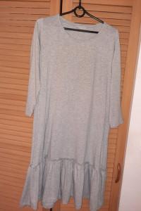 Nowa bawełniana sukienka Selfieroom z falbanką
