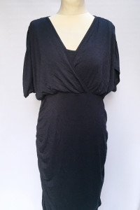 Sukienka Granatowa Mamalicious Do Karmienia XL 42 Mama