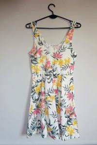 H&M NOWA zwiewna letnia sukienka kwiaty 36 S...