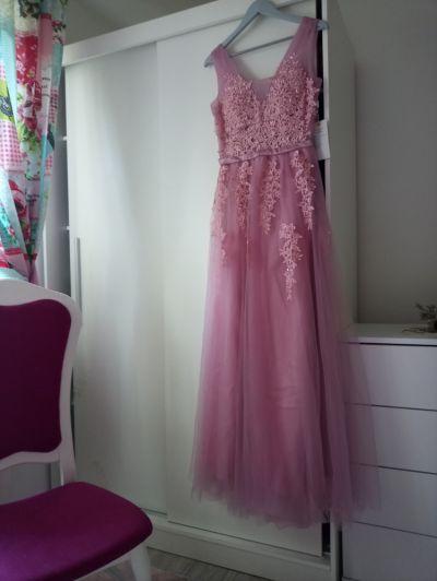 Suknie i sukienki Tiulowa dluga suknia M